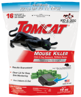 Tomcat® Mouse Killer Child & Dog Resistant, Refillable Station 16 CT Packshot